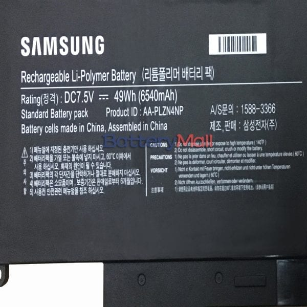 Genuine laptop battery for SAMSUNG XE700T1C-H01MY,XE700T1C-H01UK