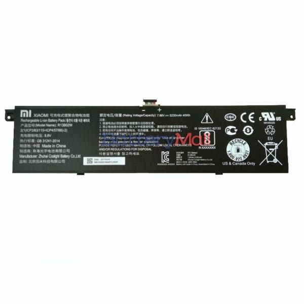 Genuine laptop battery for MI AIR 13.3