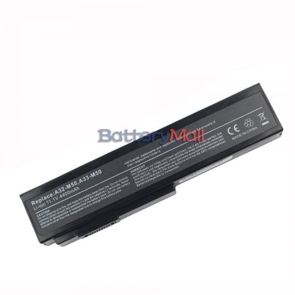 Replacement laptop battery for ASUS A32-M50,A33-M50,A32-N61