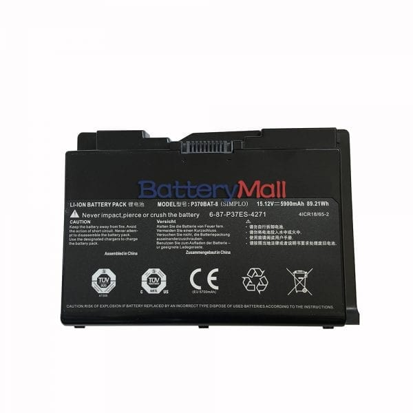 Genuine laptop battery for SAGER NP9380