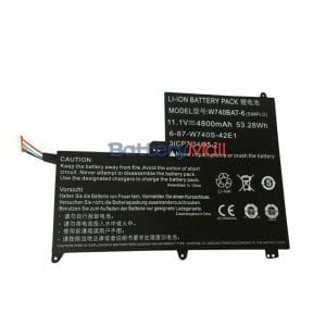 Genuine laptop battery for Terrans Force X411