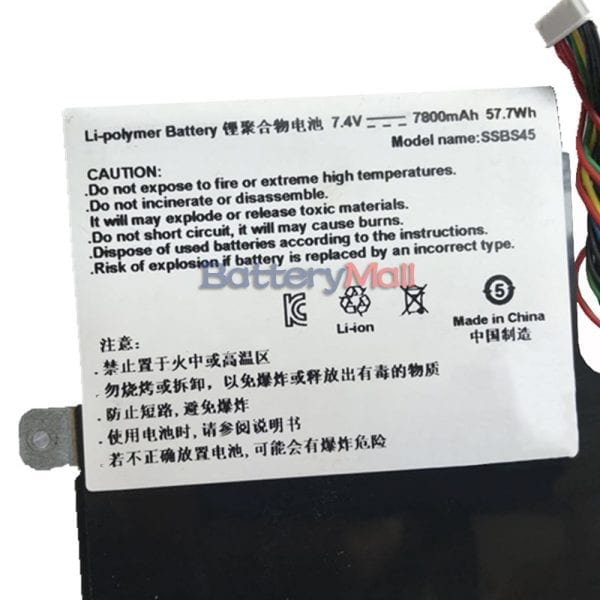 Genuine laptop battery for Hasee SSBS45