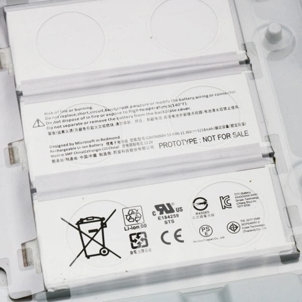 """Genuine laptop battery for Microsoft Surface book 2 15"""""""