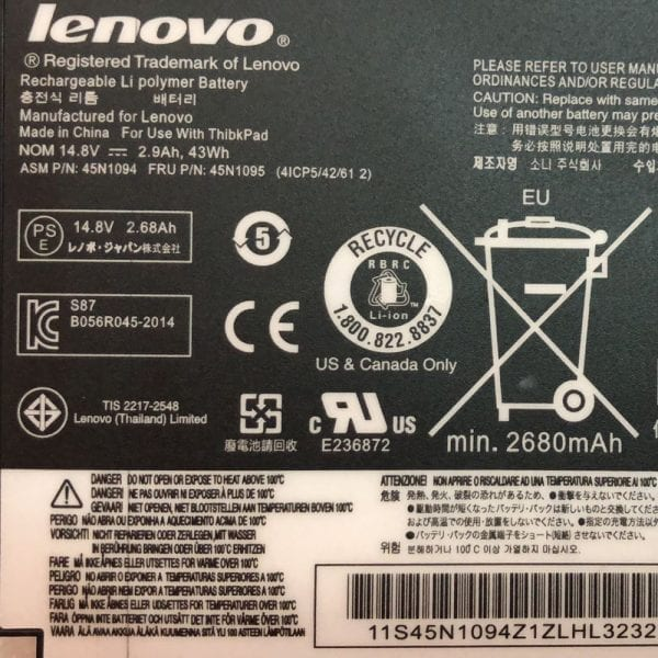 Genuine laptop battery for LENOVO S230U