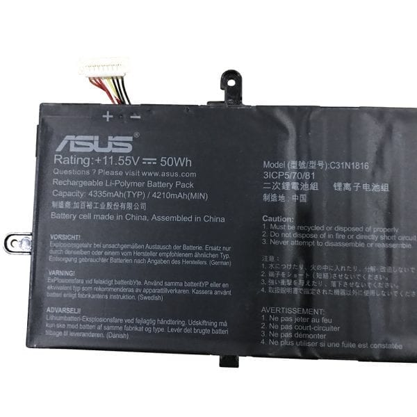 Genuine laptop battery for ASUS UX362,UX362FA