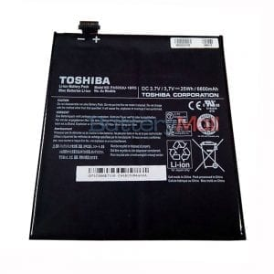 Genuine Tablet battery for TOSHIBA AT300