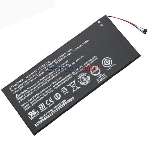 Genuine Tablet battery for ACER Iconia One 7 B1-730,B1-730HD