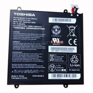 Genuine Tablet battery for TOSHIBA AT10-B