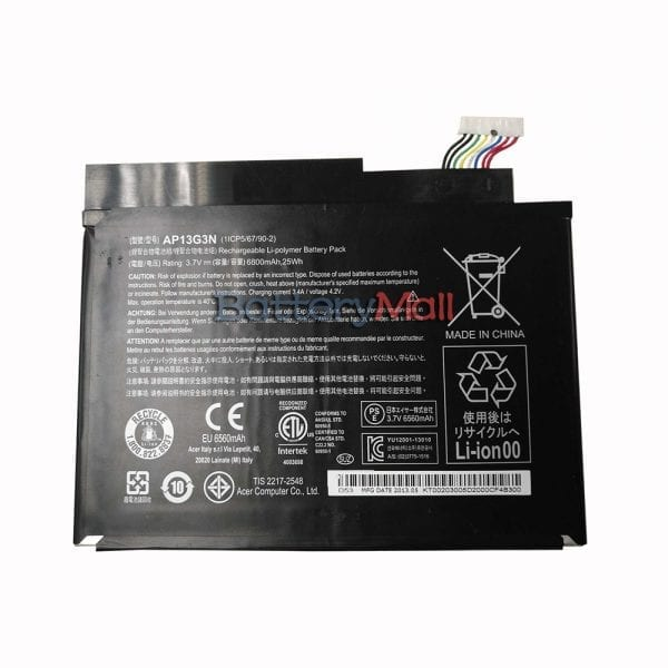 Genuine Tablet battery for Acer Iconia W3-810,W3-810P
