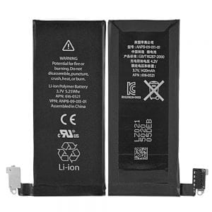 Genuine cell phone battery 616-0521 for iphone 4