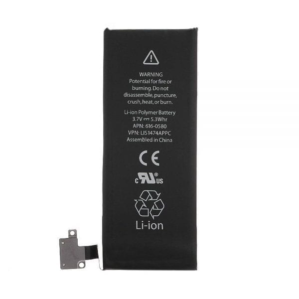 Genuine cell phone battery 616-0579,616-0580 for iphone 4s