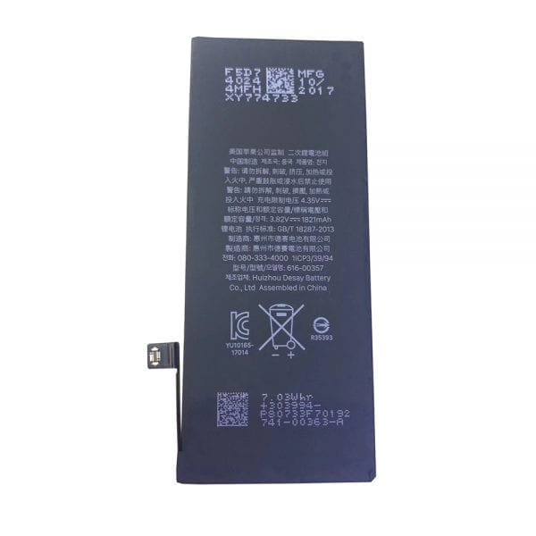 Genuine cell phone battery 616-00357 for iphone 8