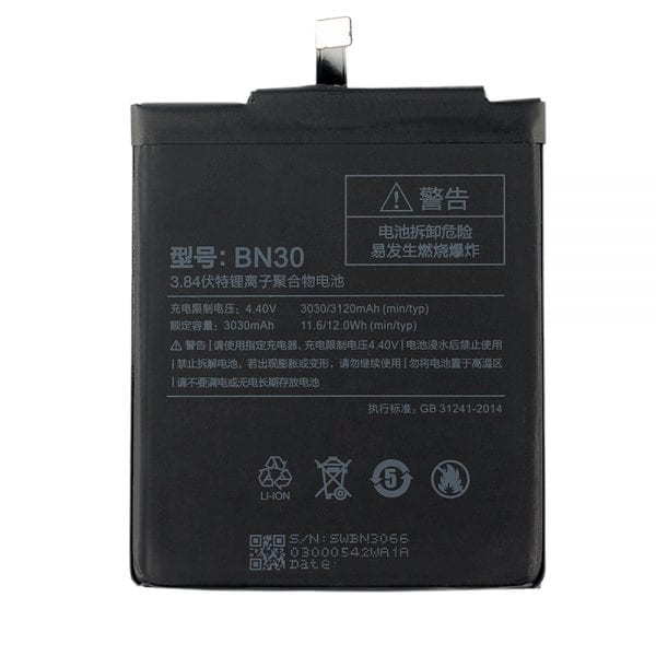 Genuine cell phone battery BN30 for Xiaomi Redmi 4A