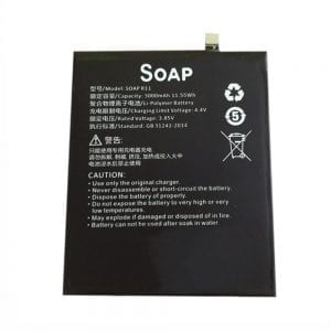 Genuine cell phone battery SOAP R11 for SUGAR R11