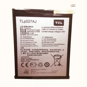 Genuine cell phone battery TLP027AJ for TCL 750