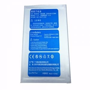 Genuine cell phone battery WG5701 for GFIVE G9