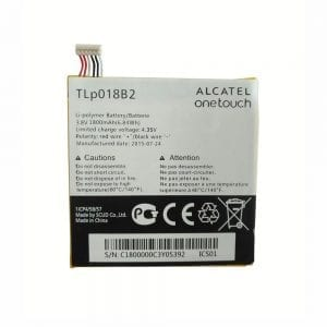 Genuine cell phone battery TLP018B2 for Alcatel onetouch OTS820,P606