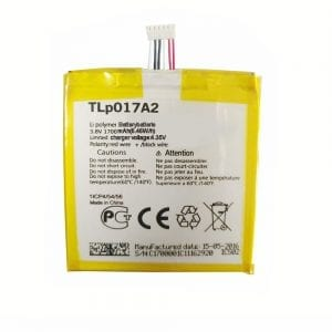 Genuine cell phone battery TLP017A2 for Alcatel idol mini,OT-6012A/D/E/W,TCLS530T,6014x
