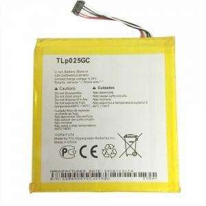Genuine cell phone battery TLP025GC for Alcatel