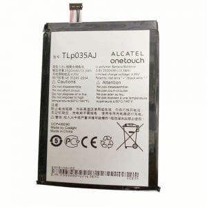 Genuine cell phone battery TLP035AJ for Alcatel onetouch N1 MAX