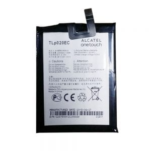 Genuine cell phone battery TLP020EC for Alcatel