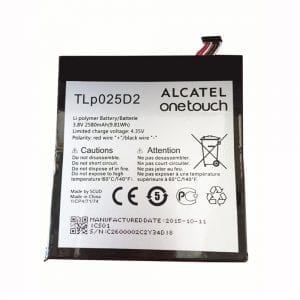 Genuine cell phone battery TLP025D2 for Alcatel