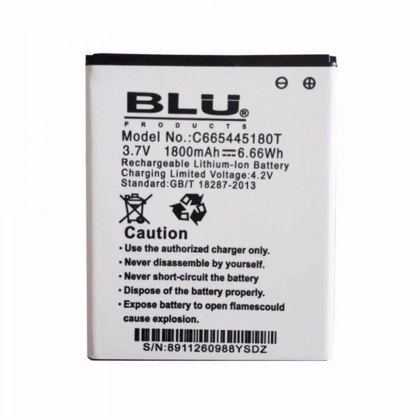 Genuine cell phone battery for BLU C665445180T