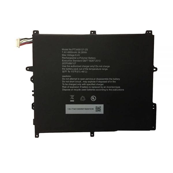 Genuine Tablet battery for Hasee PT3488127-2S