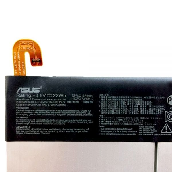 Genuine Tablet battery for ASUS C12P1601