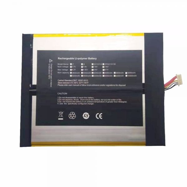 Genuine Tablet battery for CHUWI 2877164-2s,CHUWI lapbook SE