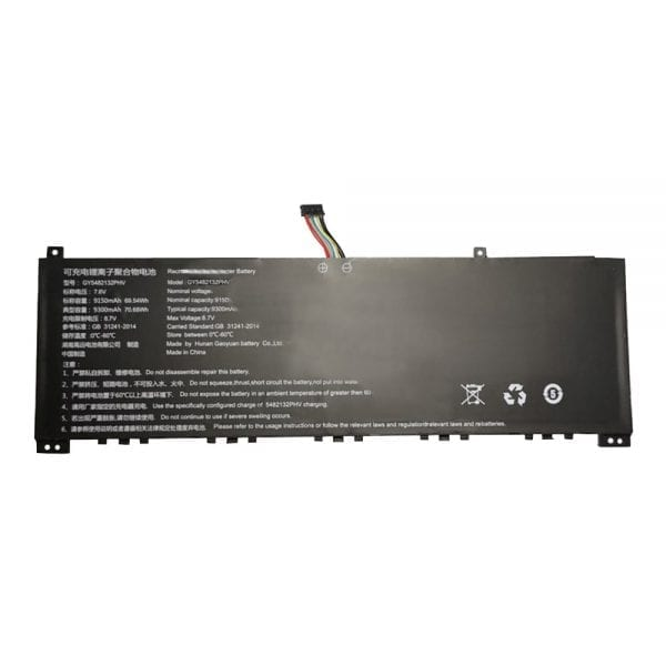 Genuine laptop battery for GY5482132PHV