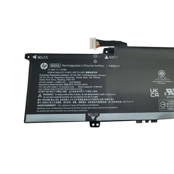 Genuine laptop battery for HP Envy x360 13-ay
