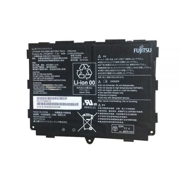 Genuine laptop battery for FUJITSU FPCBP557,FPB0345S,CP759904-03