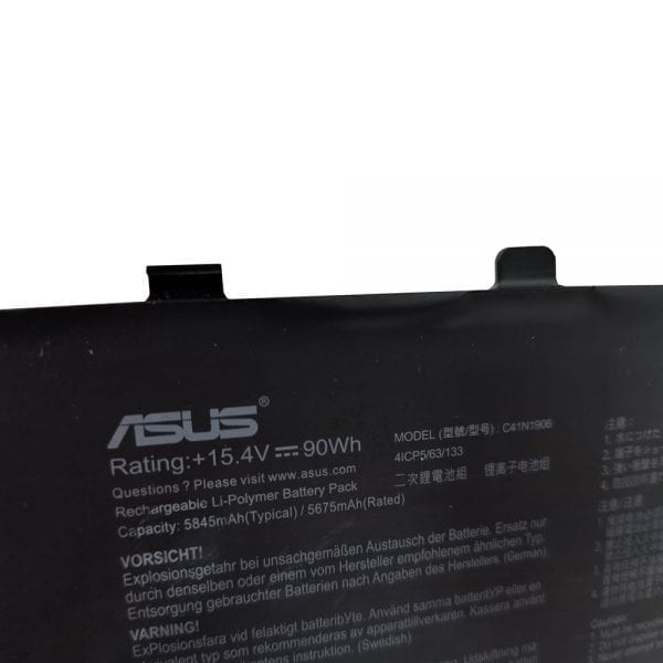 Genuine laptop battery for ASUS ROG Zephyrus Duo 15 GX550LWS,GX550LXS
