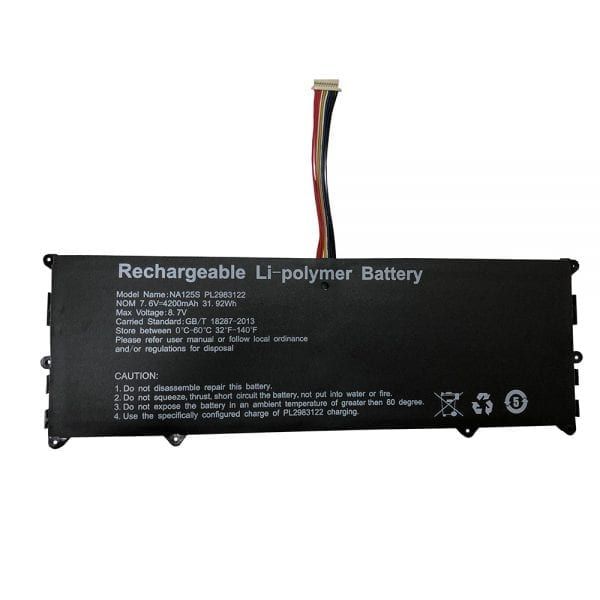 Genuine laptop battery for NuVision Encite Book 12 Plus